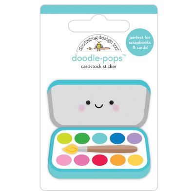 Doodlebugs School Days - Paint Box
